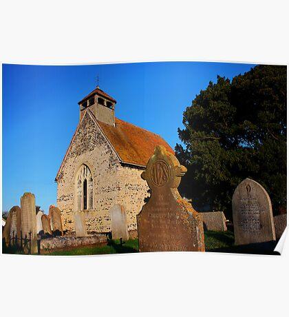 St Bartholomew, Goodnestone, Kent Poster