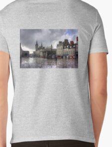 Aberdeen in the rain Mens V-Neck T-Shirt