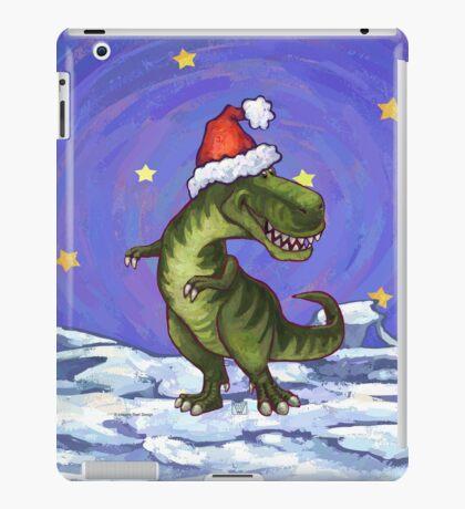Tyrannosaurus Christmas iPad Case/Skin