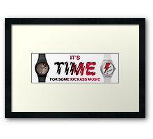 It's Time Framed Print