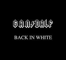 Gan ϟ dalf - Back in White by LilloKaRilloArt