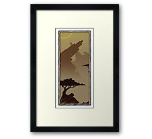 Two Trees - Rocky 2 Framed Print