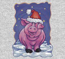 Animal Parade Pig Kids Tee