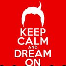 Dale Cooper&#x27;s Keep Calm And Dream On iPhone Case by Pieter Dom