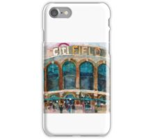 CitiField - Mets Watercolor Print iPhone Case/Skin