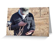 Truffle  hunt #9 Greeting Card