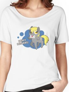 Derpy Delivers! Women's Relaxed Fit T-Shirt