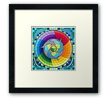 Sirius dolpin color scheme 2 Framed Print