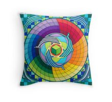 Sirius dolpin color scheme 2 Throw Pillow