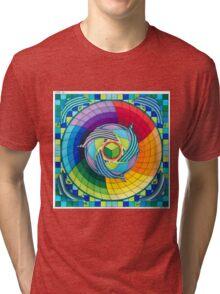 Sirius dolpin color scheme 2 Tri-blend T-Shirt