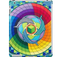 Sirius dolpin color scheme 2 iPad Case/Skin