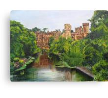 Warwick Castle, Warwickshire, England. Canvas Print