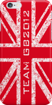 Team GB 2012 in Red by youjay68