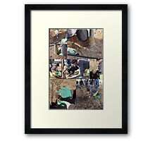 The Truffle Hunt  Framed Print