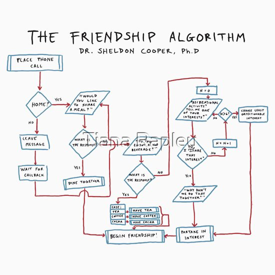 Friendship Algorithm The Big Bang Theory Big Bang Theory The