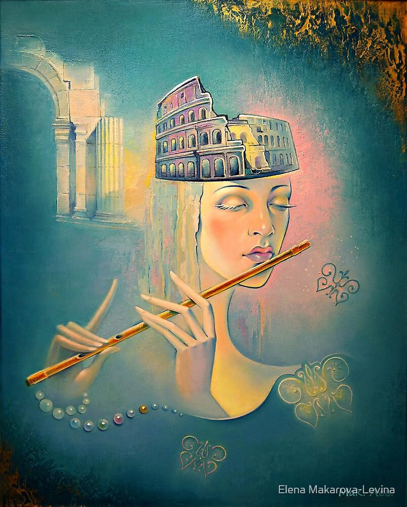 The song of the forgotten Gods. by Elena Makarova-Levina