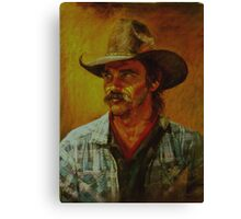 The Cowboy Canvas Print