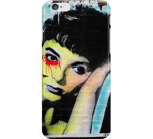 audrey hepburn graffiti iPhone Case/Skin