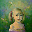 Humming-bird. by Elena Makarova-Levina