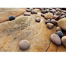 Hopeman Stones Photographic Print