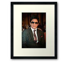 Shahrukh Khan Framed Print