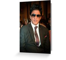 Shahrukh Khan Greeting Card