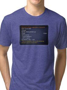 Rainment of The Legendary Character Tri-blend T-Shirt