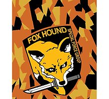 FOXHOUND Phone Case - Show your Support for FOXHOUND SPECIAL FORCE GROUP by ZanzibarLand