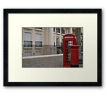 London booth Framed Print