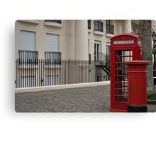 London booth Canvas Print