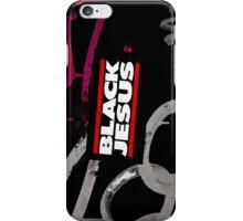 black jesus sticker iPhone Case/Skin