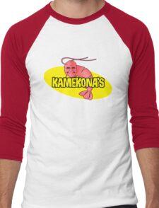 Kamekona's Shrimp Men's Baseball ¾ T-Shirt