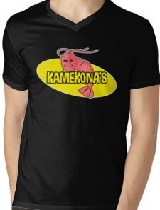Kamekona's Shrimp Mens V-Neck T-Shirt