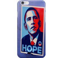 hope obama sticker iPhone Case/Skin
