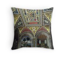 Siena Cathedral Interior 1 Throw Pillow