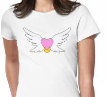 Eternal Sailor Moon Brooch - Outline Womens Fitted T-Shirt
