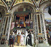 Siena Cathedral Interior 2 by Fara