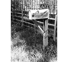 The Mailbox Photographic Print