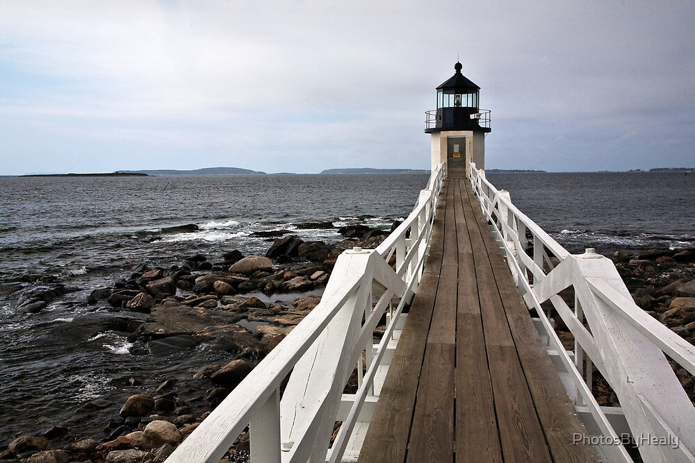 Marshall Point Light by PhotosByHealy