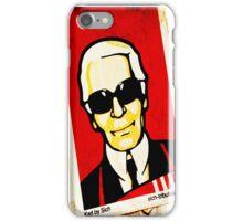 karl largerfeld sticker iPhone Case/Skin