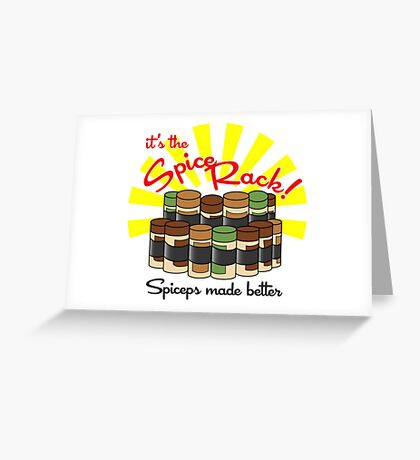 The Spice Rack! Greeting Card