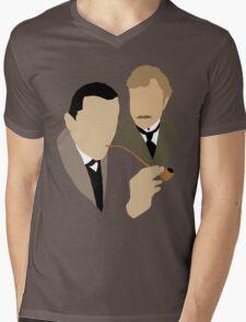 Sherlock - Brett 'n Burke Mens V-Neck T-Shirt