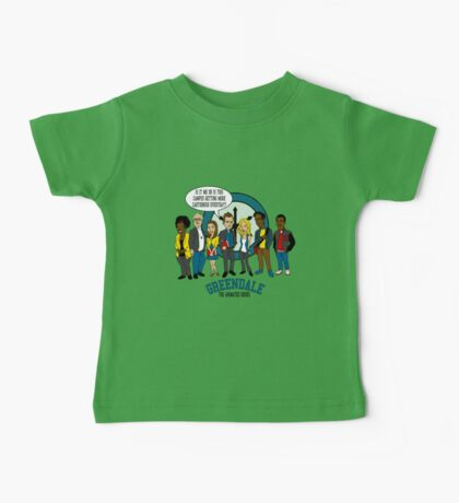 Greendale the Animated Series Baby Tee