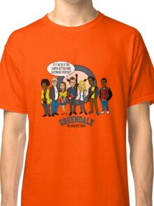 Greendale the Animated Series Classic T-Shirt