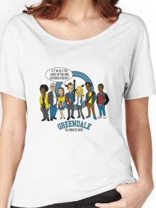 Greendale the Animated Series Women's Relaxed Fit T-Shirt