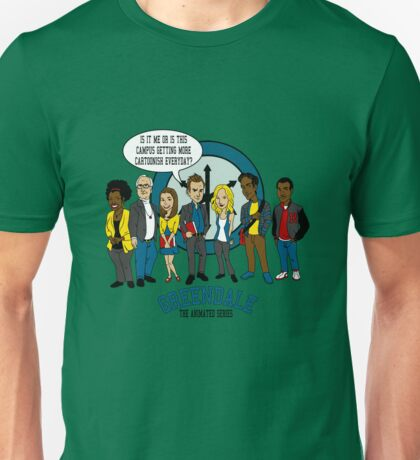 Greendale the Animated Series Unisex T-Shirt