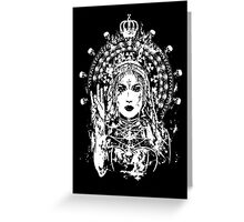 Radioactive madonna Greeting Card