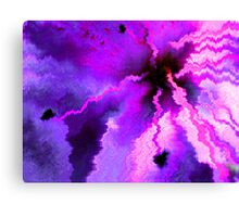 Abstract Manipulation; Camellia flower #M06 Canvas Print
