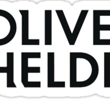 DJ Oliver Heldens Official Products!  Sticker
