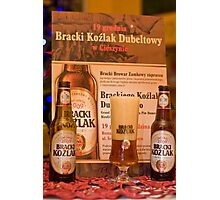 Offers good beer!!! Photographic Print